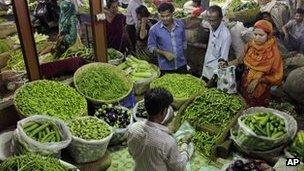 Indian food market
