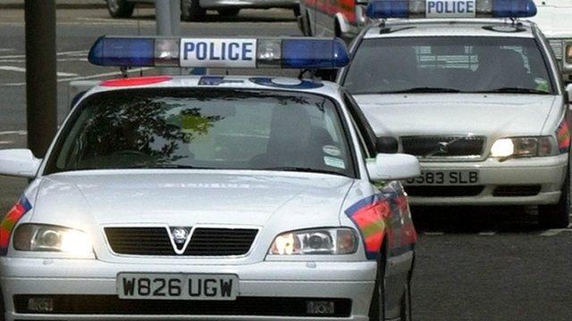 London police cars