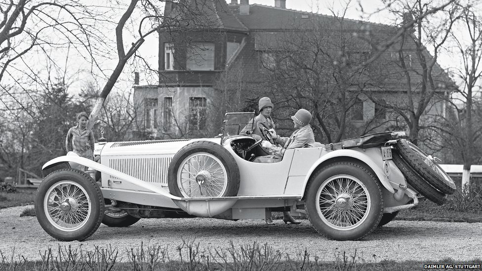 Wonderful Mercedes Benz S Model, 1920s
