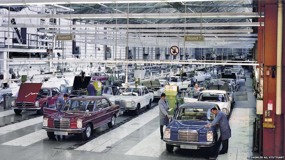BBC News - In pictures: 125 years of Daimler  Sindelfingen