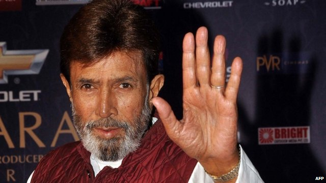 Bollywood actor Rajesh Khanna