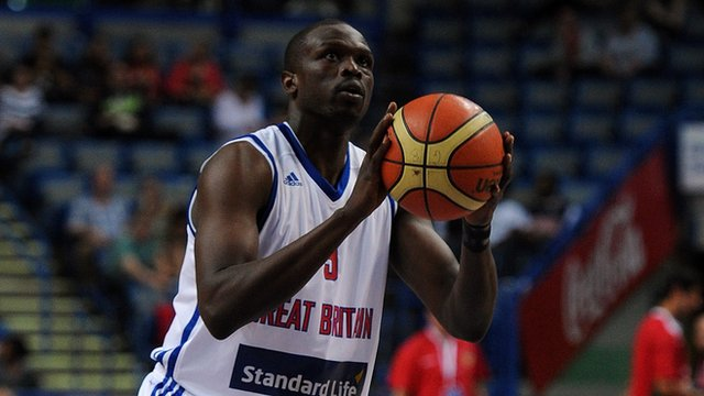 Team GB's Luol Deng