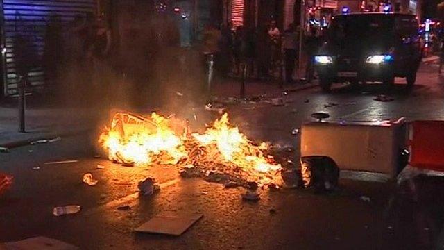 Spanish protests