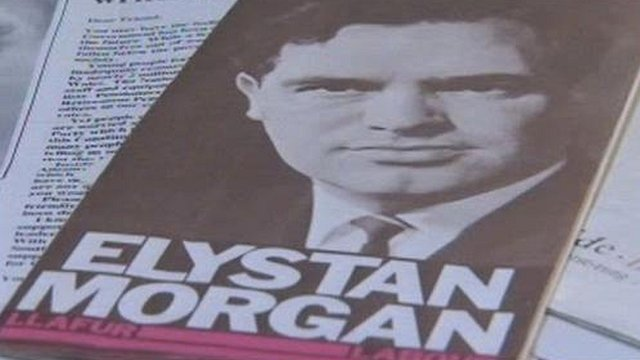 Elystan Morgan election poster for Labour