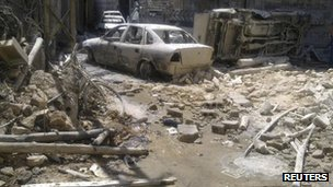 The Midan district of Damascus, 22 July