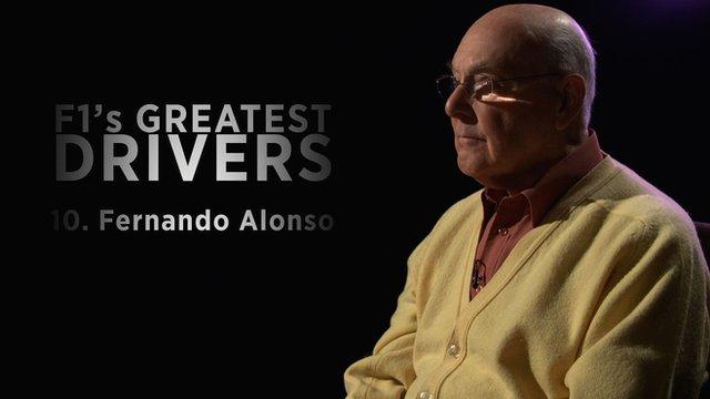 Murray Walker on Fernando Alonso