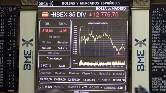 Stock Exchange in Madrid
