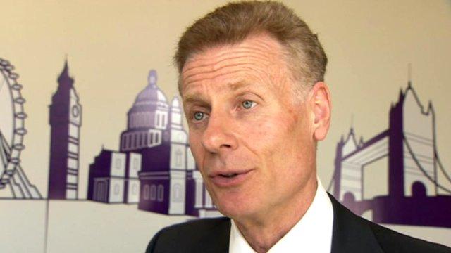 Locog chief executive, Paul Deighton