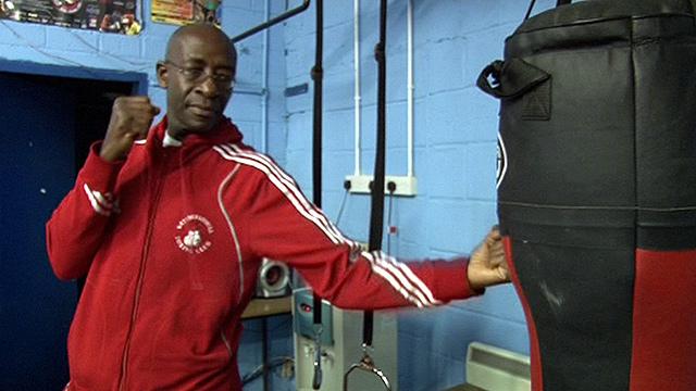 Nicolas Cruz in the Portlaoise Boxing Club