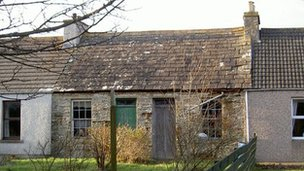 Backies cottage. Pic: The Prince's Regeneration Trust