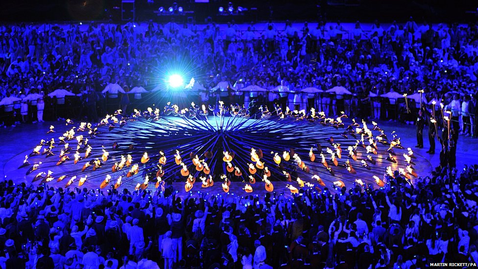 Bbc News In Pictures Olympic Opening Ceremony