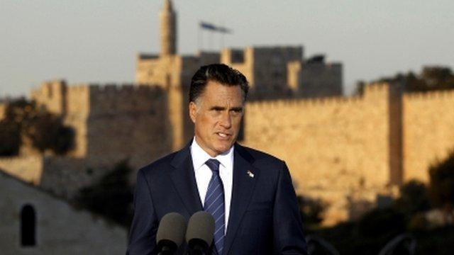 Mitt Romney in Jerusalem