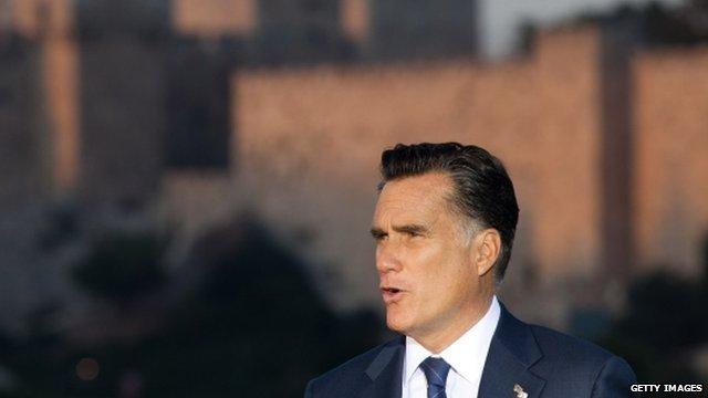 Mitt Romney in Israel