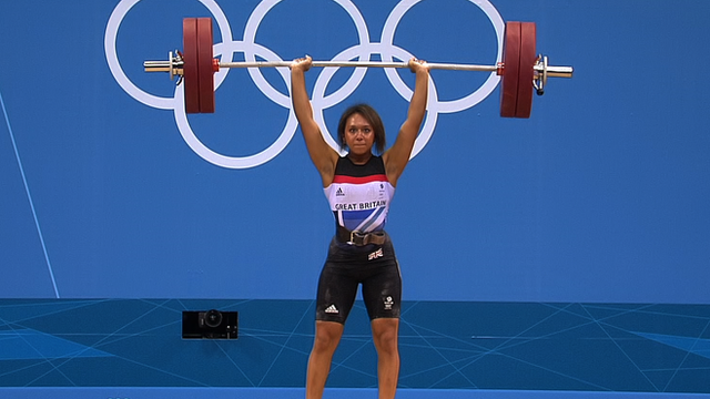 Olympic weight-lifter Zoe Smith