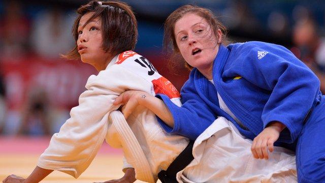 Kaori Matsumoto wins Judo gold