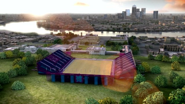 The Olympic equestrian venue at Greenwich Park.
