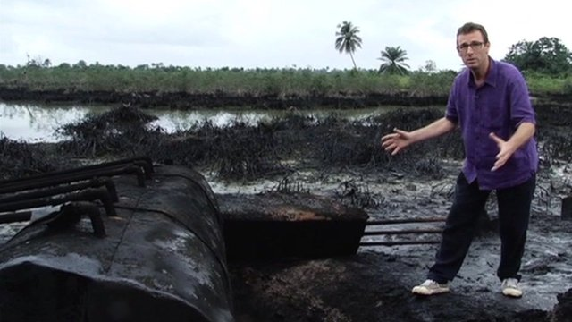 Will Ross visits an illegal oil refinery
