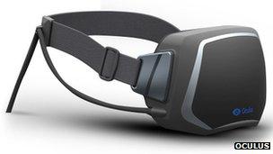 Oculus Rift headset design