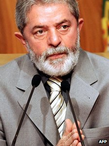 Luiz Inacio Lula da Silva in a file photo from 2006