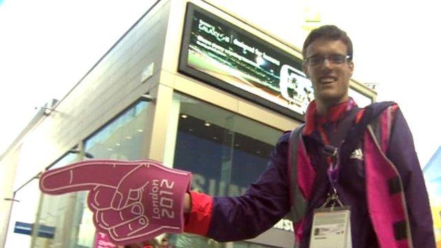 Olympic Games Maker volunteer