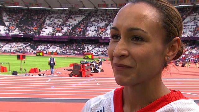 Great Britain's Jessica Ennis