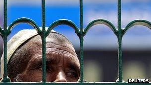Labourer in Indian-administered Kashmir