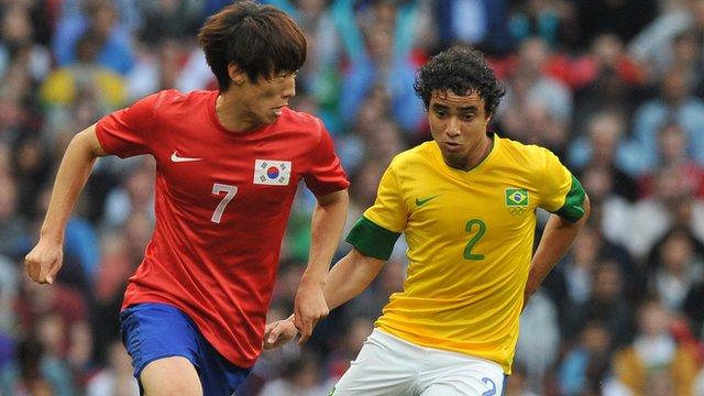 South Korea v Brazil