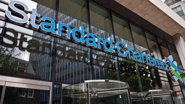 headquarters of Standard Chartered Bank in London