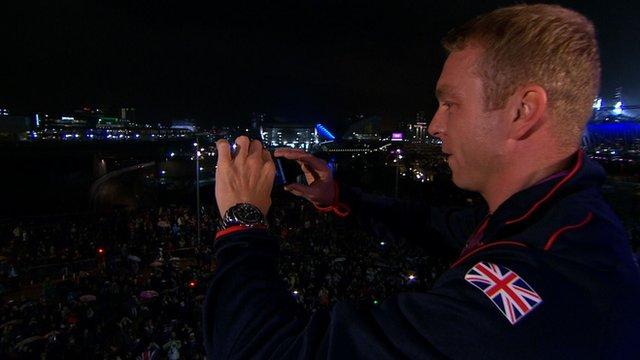 Great Britain's Sir Chris Hoy