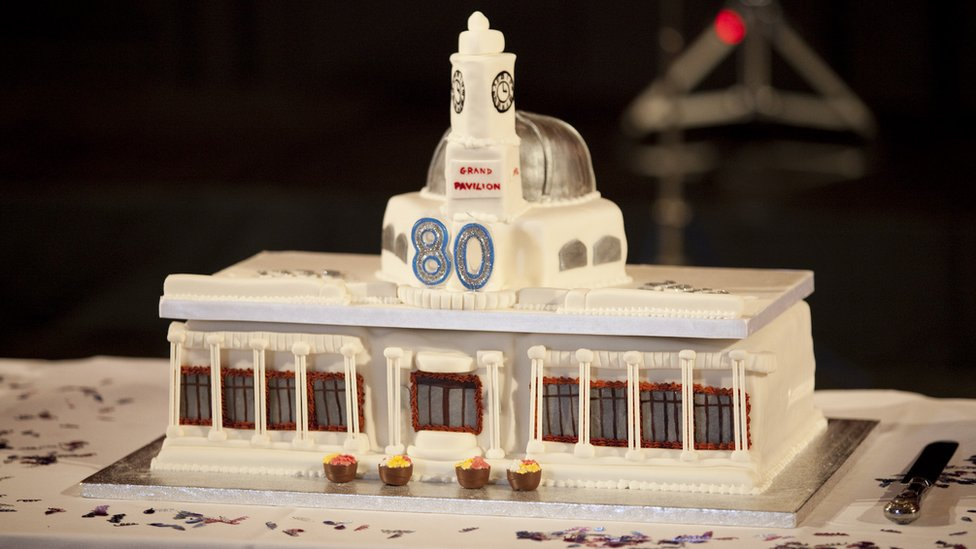 Bbc News In Pictures Porthcawls Grand Pavilion Turns 80