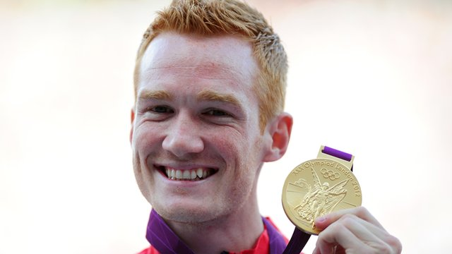 Rutherford with gold medal