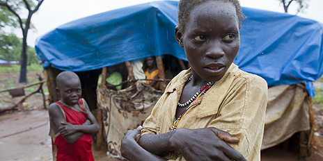 Refugee from border areas of Sudan