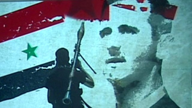 Graphic of Assad