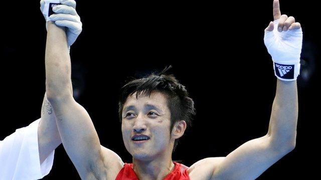 Boxing gold for China's Shiming