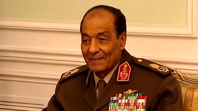 Field Marshal Mohamad Hussein Tantawi