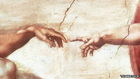 Detail from the Sistine Chapel