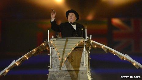 Timothy Spall as Winston Churchill