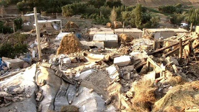 Ruins in Tabriz