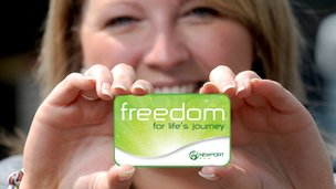 Newport Bus Freedom smartcard