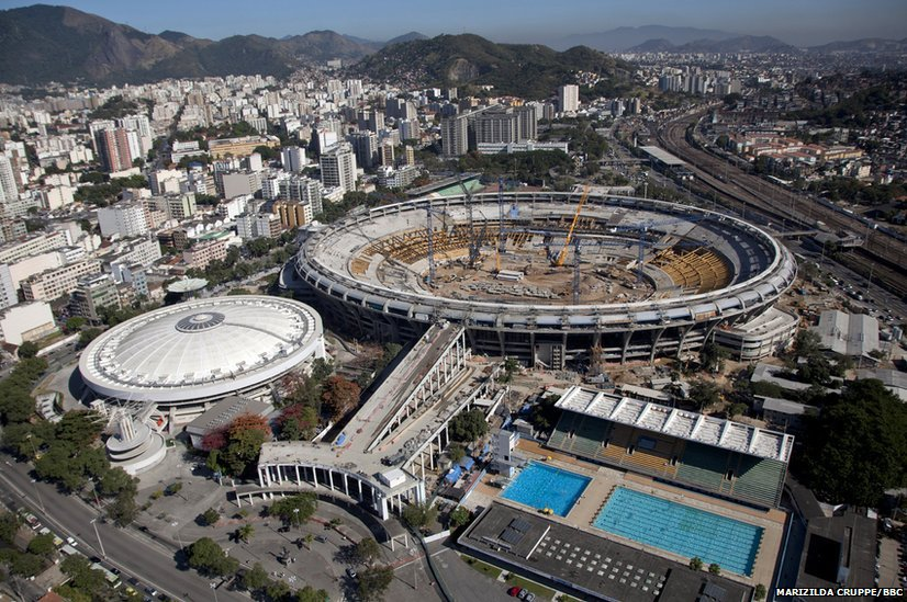 BBC News - In pictures: Rio de Janeiro builds for the ...