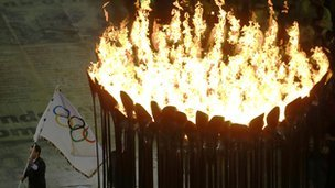 Lloyds benefited from its association with the Olympic torch