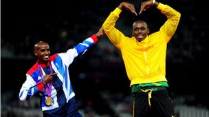 Mo Farah and Usain Bolt embodied the spirit of the Olympic Games