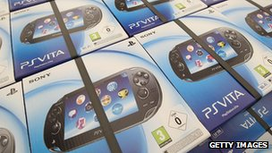 PlayStation Vita boxes