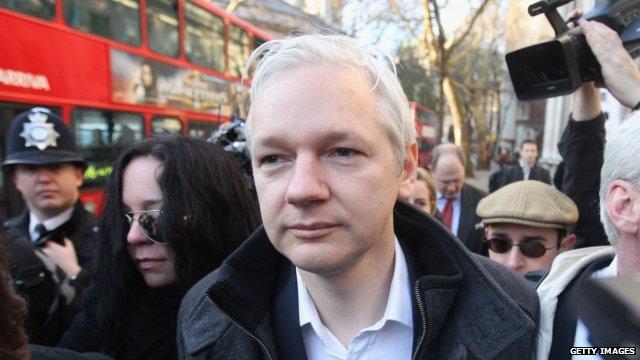 Julian Assange - file photo