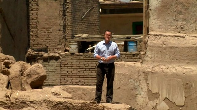 The BBC's Martin Patience in Kashgar