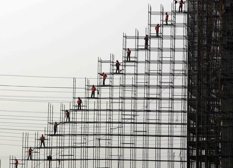 Bbc News In Pictures The Art Of Building