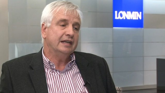 Simon Scott, the finance director of Lonmin