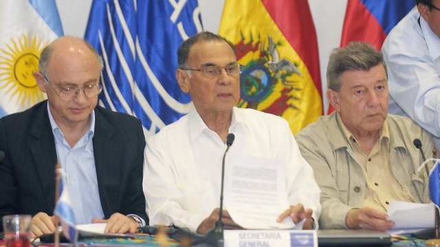 General Secretary of Union of South American Nations (UNASUR) Ali Rodriguez