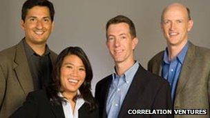 Correlation Ventures team