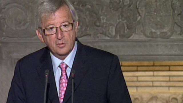 Eurogroup finance minister Jean-Claude Juncker